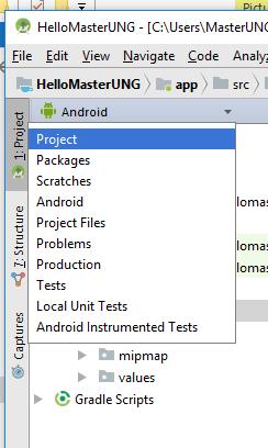 androidthai in th - การทำ Stash Change บน Android Studio