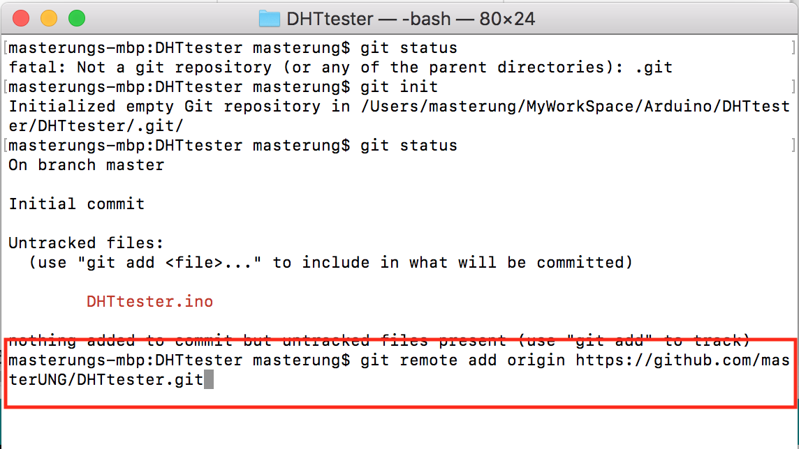 androidthai in th - Command Git On Mac