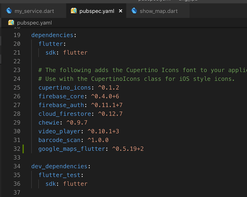 androidthai in th - Google Map on Flutter