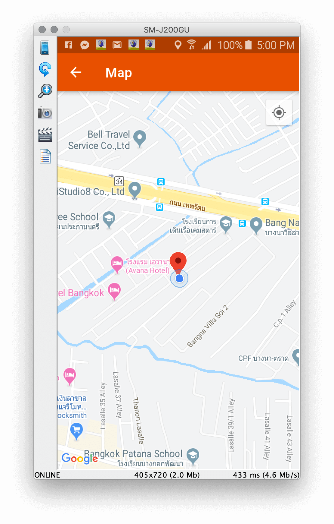 androidthai in th - Get Latitude Longitude Location Google Map API