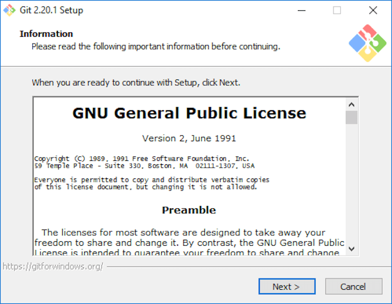 androidthai in th - Install Git on Windows
